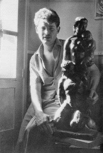 El escultor. Años 60.