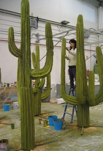 Cactus Saguara, para Pelicula Western Los Hermanos Dalton