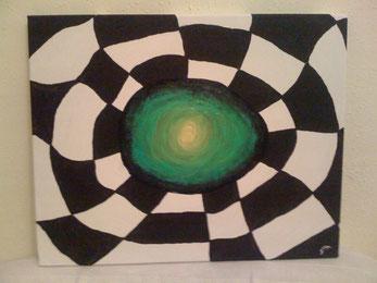 Spinnennetz - November 2011 (40x50cm)