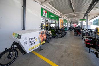Unsere Cargobike und Lastenvelo Auswahl im Cargobike Zentrum Dietikon bei Zürich