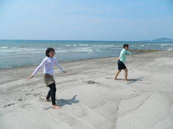 陸トレは重要です!陸トレ出来てないと海でもバランスとれません。