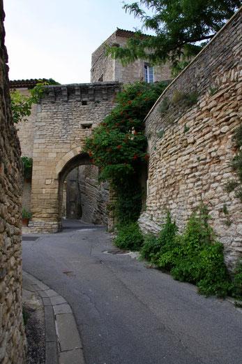 Bild: Das Schloss in Goult