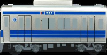 テープカッター 電車型 側面