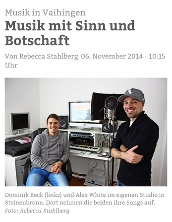 Stuttgart nachrichten Musik Zeitung