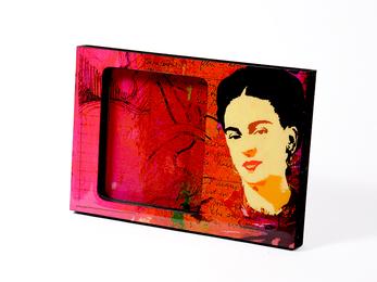 Bilderrahmen Frida Rojo