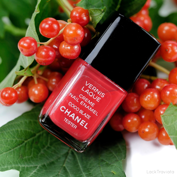CHANEL • COCO BLAZE (VERNIS LAQUE made in U.S.A.)