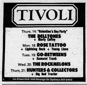 Sydney Morning Herald 15.Februar 1985 Page 41- AD