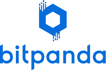 Logo bitpanda Kryptowährungen kaufen - Tell-a-Friend-Aktion