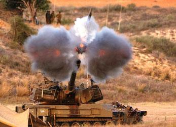 Israelsk militær angriber GAZA