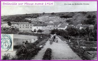 Belleville-sur-Meuse avant 1914 -