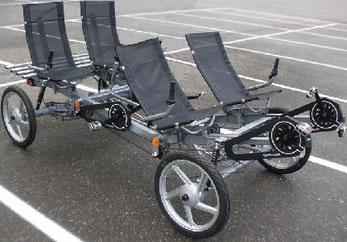 quattrocycle assistance électrique