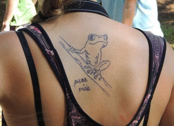 Ein Urlaubs-Tattoo für die Dauer einer Costa-Rica Reise!