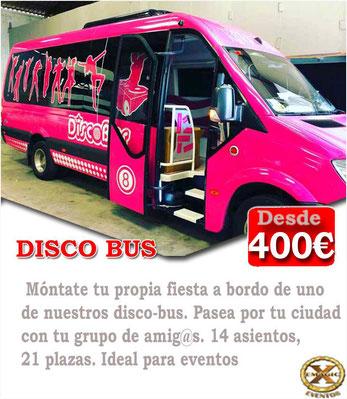 contratar disco bus cadiz