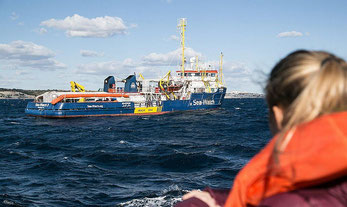 Immigrazione. Sea Watch 3, nave Ong migranti