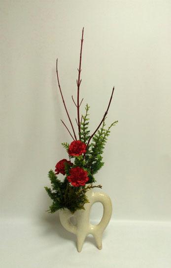 2014.12.22 クリスマスの飾り花   by Ayumiさん