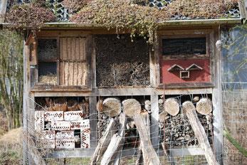 Insektenhotel am Kluenpott