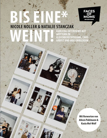 """book cover """"Until one cries"""" from Nicole Noller and Natalie Stanczak"""