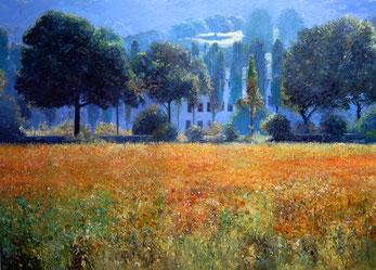 Martin Eller - Ausstellung mit Gemälden in der Kunsthandlung Langheinz