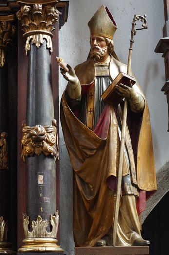 Barocke Darstellung von Augustinus von Hippo