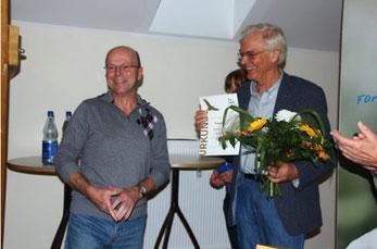 Goldene Ehrennadel für Frank Ott