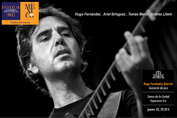 Hugo Fernandez, Jazz Quartet, Cuarteto de jazz, guitarrista de jazz, Mexico