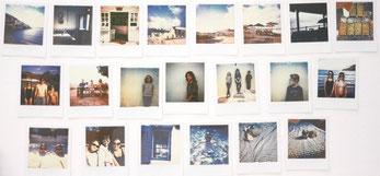 Série de photos Polaroïd