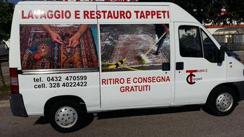 come operiamo - centro lavaggio e restauro tappeti trieste