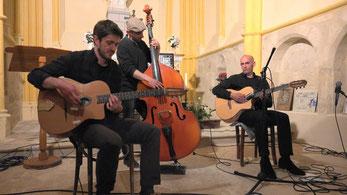 Le trio Boris Pelosof est l'un des piliers du festival.