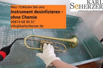 Instrument desinfizieren