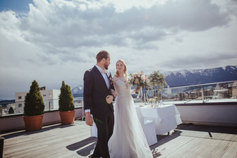 Hochzeit im Holiday Inn & Congress Center Villach © Christina Supanz