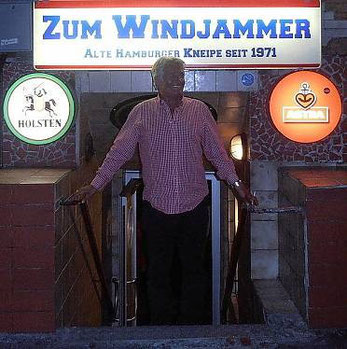 ZUM WINDJAMMER - Davidstraße 34 Hamburg St. Pauli