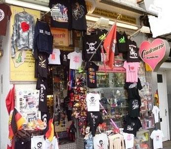 Ehemalige Condomerie Hamburg auf St. Pauli