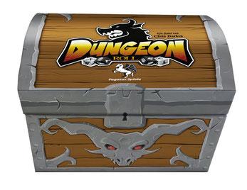 Rezension zum Würfelspiel Dungeon Roll von Pegasus
