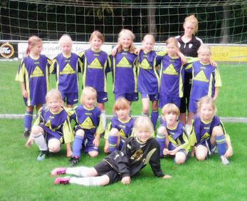 Die F-Mädchen des SC Preußen Borghorst