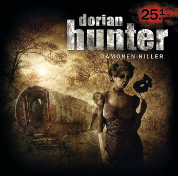 "CD-Cover Dorian Hunter - Die Masken des Dr. Faustus ""Mummenschanz"""