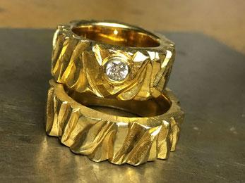 Ehe- und Partnerringe aus Gold