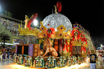 Carnevale di Rio-Carri allegorici