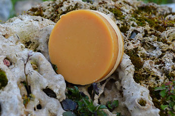 Savon_Naturel_Artisanal_Petit Lait Brebis_Graisse Canard_Orange