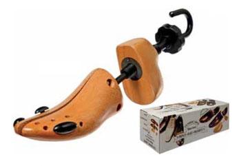 allunga-allarga scarpe legno
