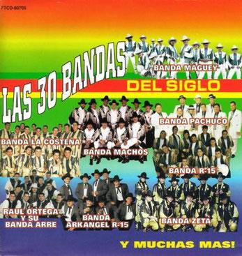 Las 30 Bandas del Siglo – 30 Super Exitos de Coleccion
