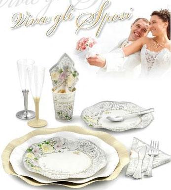 piatti viva gli sposi