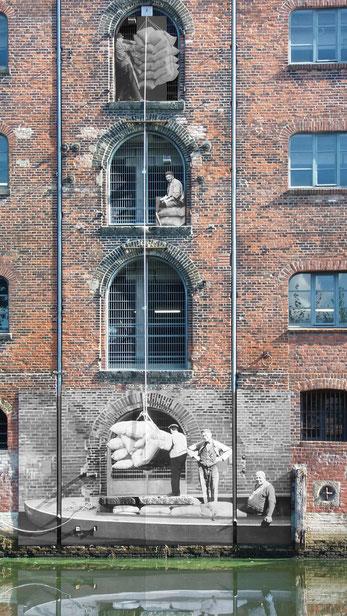 Denkmalkunst eröffnet einen überraschenden Blick in die Arbeitswelt von 1930.