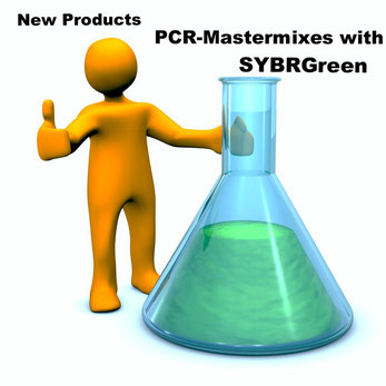 PCR master mix for real time PCR and SybrGreen or ROX