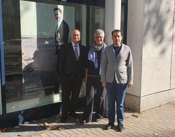 Konrad Reichert, MdL Helga Lerch und Intendant Beat Fehlmann