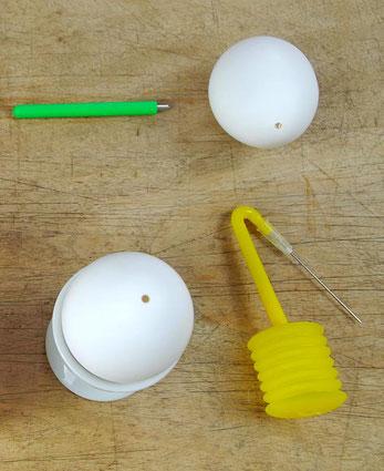 Eier von innen richtig reinigen