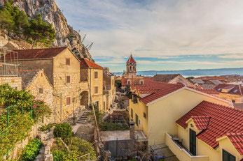 Апартаменты в Омише. Отдых в Хорватии.
