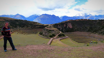 Moray, terrasses Incas, Cusco, pérou