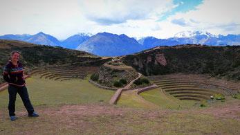 Moray, terrasses Incas, Cusco, pérou