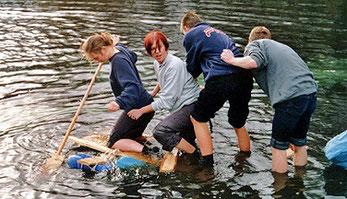 Umweltbildung mit Jugendlichen in der HVHS in Papenburg