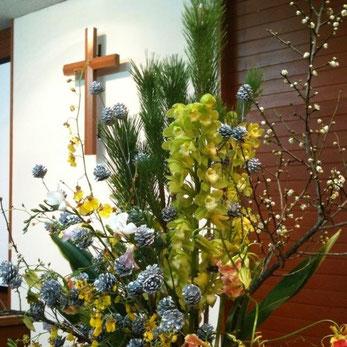 能勢川キリスト教会 礼拝案内